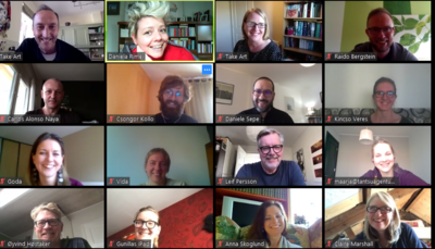 DISTANT BUT CLOSE: ONLINE PARTNER MEETING ON APRIL 2020